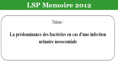 Photo of La prédominance des bactéries en cas d'une infection urinaire nosocomiale