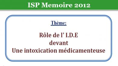 Photo of Rôle de l' I.D.E devant Une intoxication médicamenteuse