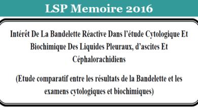 Photo of Intérêt De La Bandelette Réactive Dans l'étude Cytologique Et Biochimique Des Liquides Pleuraux, d'ascites Et Céphalorachidiens