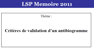 Photo of Critères de validation d'un antibiogramme