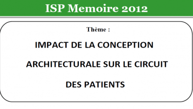 Photo of IMPACT DE LA CONCEPTION ARCHITECTURALE SUR LE CIRCUIT DES PATIENTS