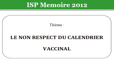 Photo of LE NON RESPECT DU CALENDRIER VACCINAL