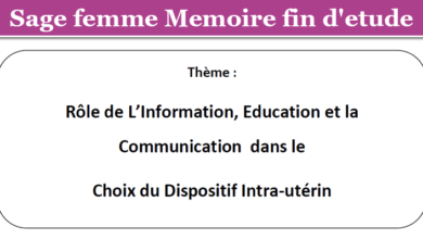 Photo of Rôle de L'Information, Education et la Communication dans le Choix du Dispositif Intra-utérin