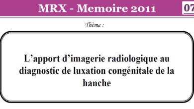 Photo of L'apport d'imagerie radiologique au diagnostic de luxation congénitale de la hanche