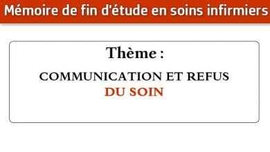 Photo of Mémoire infirmier : COMMUNICATION ET REFUS DU SOIN